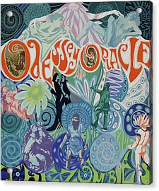Odessey And Oracle - Album Cover Artwork Acrylic Print