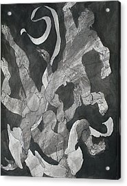 Odysseus Saved From Drowning By Inos Veil Acrylic Print by Chris  Riley
