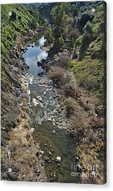 Oeiras Creek Stream In Alentejo Acrylic Print