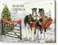 Of Christmas Past  Acrylic Print