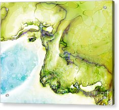Of Earth And Water Acrylic Print