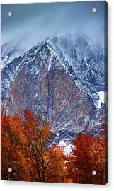 Of Fire And Ice Acrylic Print