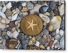 Of The Beach Acrylic Print by Tim Gainey