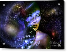 Of The Stars Acrylic Print by Shadowlea Is
