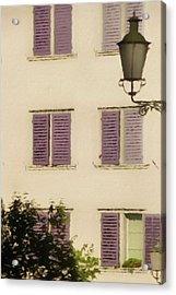 Acrylic Print featuring the photograph Of Times Past  by Connie Handscomb