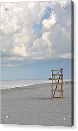 Acrylic Print featuring the photograph Off Duty by Laura DAddona