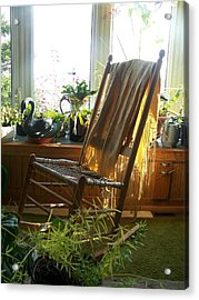 Acrylic Print featuring the photograph Off My Rocker - Photograph by Jackie Mueller-Jones
