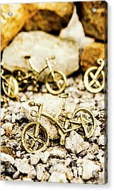 Off Road Bike Trinkets Acrylic Print