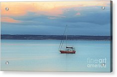 Acrylic Print featuring the photograph Off Sailing by Stephen Mitchell