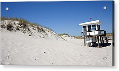 Off-season Beach Acrylic Print