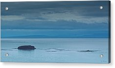 Acrylic Print featuring the photograph Off The Iceland Coast by Joe Bonita