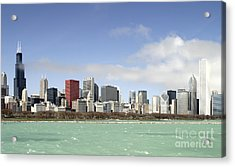 Off The Shore Of Chicago Acrylic Print