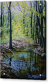 Off The Trail Acrylic Print