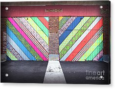 Acrylic Print featuring the photograph Off The Wall - Double by Colleen Kammerer