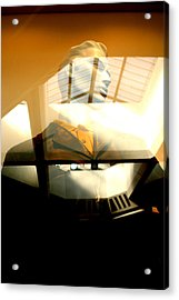 Off Through The Roof Acrylic Print by Jez C Self