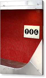 Off To The Loo Acrylic Print by Jez C Self