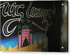 Off To The Lounge Acrylic Print by Jez C Self