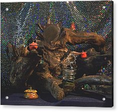 Acrylic Print featuring the photograph Offerings by Carolyn Cable