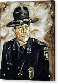 Officer Demaree Acrylic Print