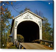 Offutt's Ford Covered Bridge Acrylic Print