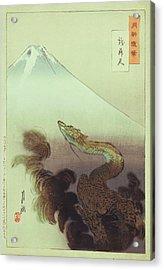 Ogata Gekko Dragon Acrylic Print