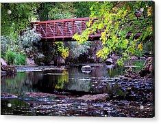 Ogden River Bridge Acrylic Print
