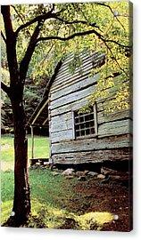 Ogle Cabin Acrylic Print by Alan Lenk