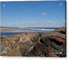 Ogunquit Maine Acrylic Print by Joy Bradley