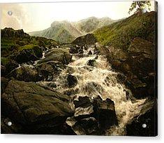 Ogwen Falls Acrylic Print
