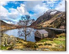 Ogwen Lake Acrylic Print by Adrian Evans