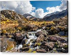 Ogwen Valley Rapids Acrylic Print