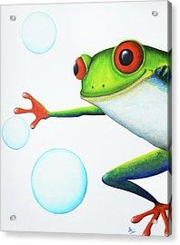 Oh Bubbles Acrylic Print