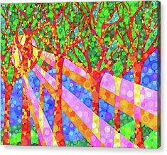 Oh Happy Day Acrylic Print by Jennifer Allison