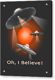 Oh I Believe  Se Acrylic Print by Mike McGlothlen