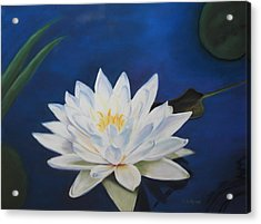 Oh Lily Acrylic Print