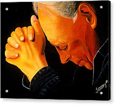 Oh Lord Hear Our Prayer Acrylic Print by JoeRay Kelley