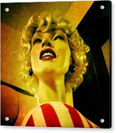 Oh Marilyn  Acrylic Print