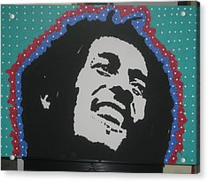 Acrylic Print featuring the drawing Oh Marley Where Are You Now by Robert Margetts