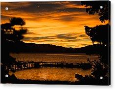 Oh Tahoe Glow Acrylic Print