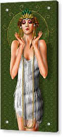 Oh Those Fabulous Flappers Acrylic Print