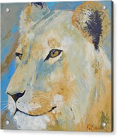 Oh To Be King Acrylic Print by Karen Macek