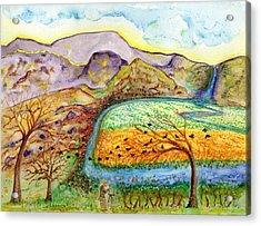 Oh Vincent Acrylic Print
