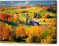 Ohio Amish Country Acrylic Print