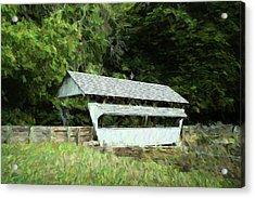 Ohio Covered Bridge Acrylic Print