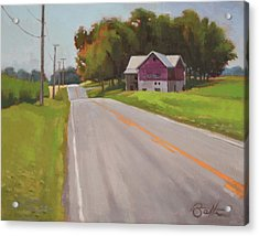 Ohio Farm Acrylic Print by Todd Baxter