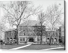 Ohio State University Hayes Hall Acrylic Print by University Icons