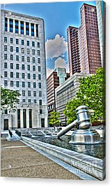 Ohio Supreme Court Acrylic Print