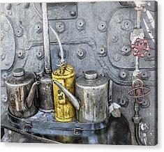 Oil Cans Acrylic Print