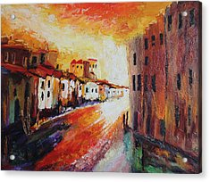 Oil Msc 013 Acrylic Print