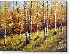 Oil Msc 028 Acrylic Print